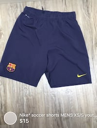 Nike* soccer shorts MENS XS/S youth Xl great condition London, N5W 1E8
