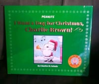 Peanuts I Want A Dog For Christmas, Charlie Brown Danville, 17821