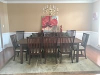 Dining room table and buffet Chester, 23831