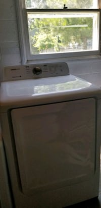 Samsung electric washer and dryer