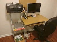 Apple computer, desk and new chair Walker County, 30725