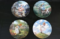 Classic Mother Goose Limited Plate Collection by Scott Gustafson Markham