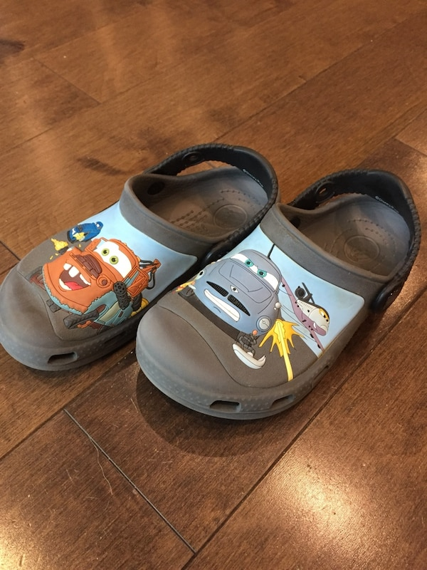 7d8e6b7a8 Used CROCS Kids Toddler Lightning McQueen Clog   Shoe Size US 12 13 for  sale in Needham
