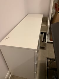 white wooden 2-drawer chest Falls Church, 22044