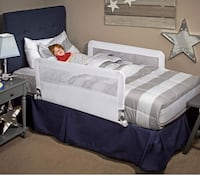 New, unused  Regalo Baby Hide Away Double Sided Bed Rail (White) St Thomas, N5R 6M6