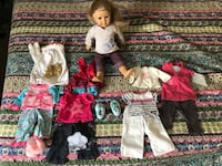 American Girl doll with clothes  Petersburg, 49270