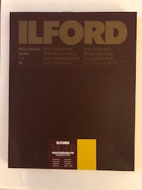 Ilford Multigrade FB Warmtone Semi Matte 8x10 Inglewood, 90304