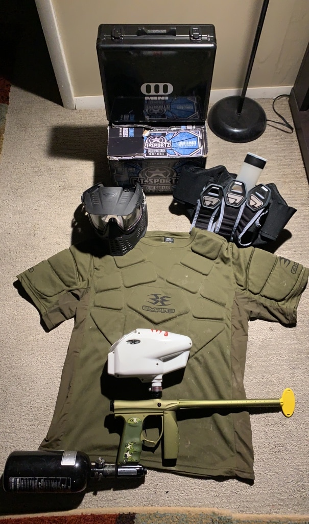 Photo Empire invert mini (Bundle)chest plate , helmet, shaft guard an ECT