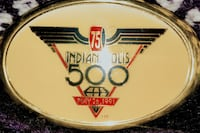 Indy 500 75th Anniversary Belt Buckle,  #493 of 500 Bloomsbury, 08804