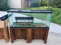 50 gallon tank and stand