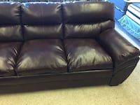 Brown Ashley leather sofa brand new Creswell, 97426