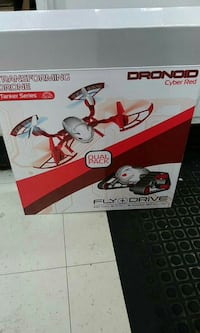 red and grey transforming drone box Port Orange, 32129