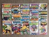 Lot of 20 1980s Various Marvel & DC Comics -Great Deal Calgary, T2R 0S8