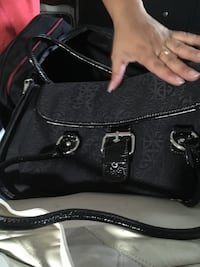 black leather Coach tote bag West Chester, 45241