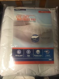 Brand new mattress pad size DOUBLE/FULL for 25 bucks only