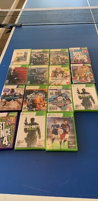 assorted Xbox 360 game cases Milton, 30004