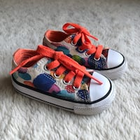 Converse All Star Watercolors Rainbow Ba y Toddler Girls Shoes Size 4 Haverhill, 01832