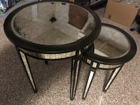 Mirrored nesting end tables  Orlando, 32819