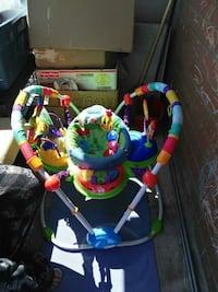 blue, green, red jumperoo Hamilton, L8R 3H4