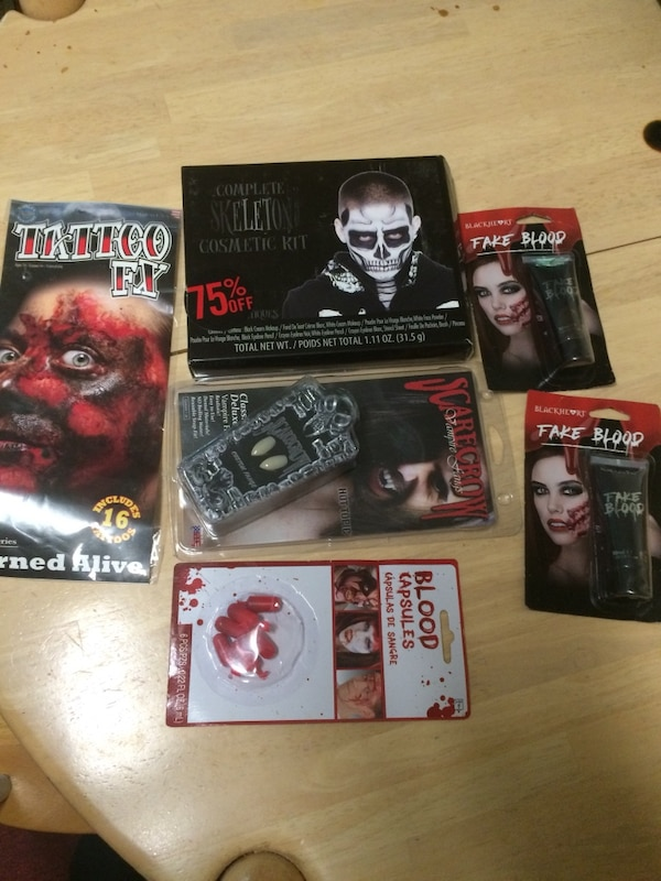 Halloween make up kits brand new retail price $60 I'm asking $12 for