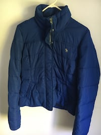Women's Abercrombie and Fitch Blue puff Jacket Maple Ridge, V2X 5J6