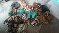 assorted pairs of shoes and sandals San Antonio