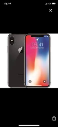 black iPhone 7 with red case Las Vegas, 89109
