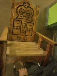 CUSTOM Wooden Thrown Hand Carved