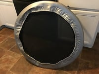black and gray trampoline with enclosure Duluth, 30096