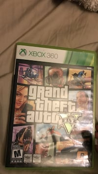Grand Theft Auto Five Xbox 360 game case Red Deer, T4R 3M8