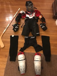 "Youth hockey full body gear 3'9 to 4'7"" West Springfield"