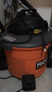 black and orange Ridgid wet and dry vacuum cleaner Ottawa, K2J