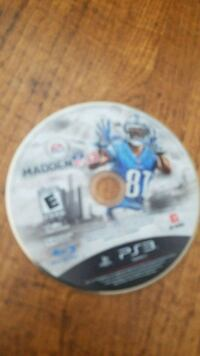 Madden NFL 15 Sony PS3 game disc Carrollton, 75007