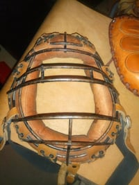 Vintage BASEBALL GLOVE & Backcatcher Mask Edmonton, T5H 2V8