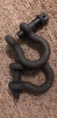 3/4in towing D-ring shackles for SUV Marion, 43302