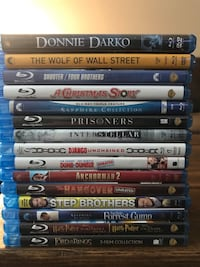 Blu Ray movies. Negotiable Denver, 80203