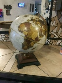 brown and white globe Mobile, 36608