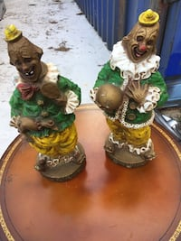 Two clown holding ball and duck figurines Chipley, 32428