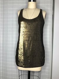 Sequined tank size M Westmont, 60559