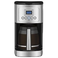 Cuisinart DCC-3200 PerfecTemp 14-Cup Programmable Coffeemaker, Stainless Steel Doral