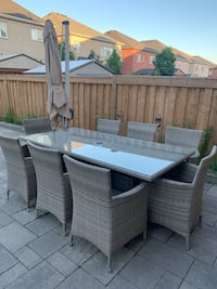 Patio Dinning Set for 8 Vaughan, L4H 3W5