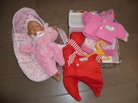 Corolle baby doll and accessories Houston, 77042
