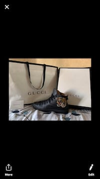 Men Gucci shoes 10 1/2 , husband only wore a few times. Price negotiable, originally bought for $700 Philadelphia, 19143