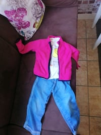 Jacket ???? T-shirt and Jeans pants Fosie, 215 71