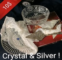 Crystal and Silver Kitchen Ware  Toronto, M4J 2A1