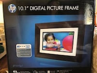 HP 10.1 Digital Picture Frame (NEVER USED)