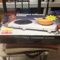 New Newer used portable cooking range Germantown, 20874