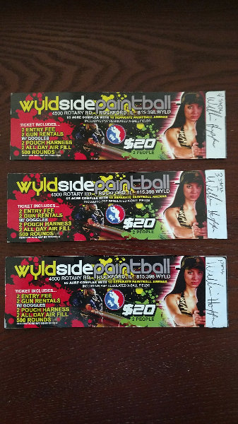 Paintball Tickets to Wyldside Rockford. Rockford