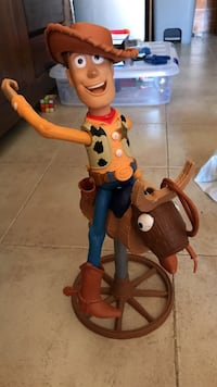 Woody the sheriff y buzz lightyear