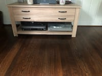 TV table with drawer